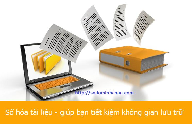 Scan tài liệu - Dịch vụ số hóa tài liệu cho doanh nghiệp
