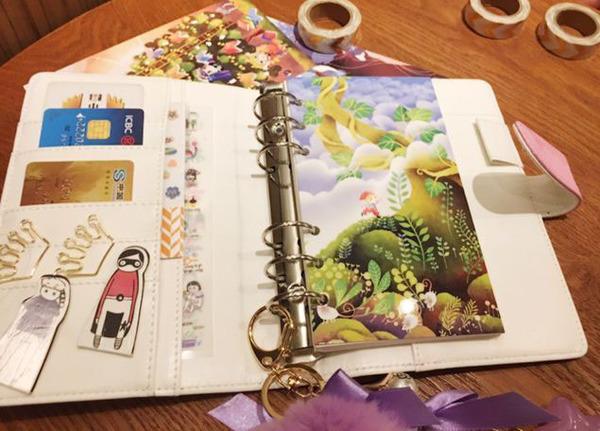 Sổ còng da thiết kế tại Công ty in ấn Minh Châu