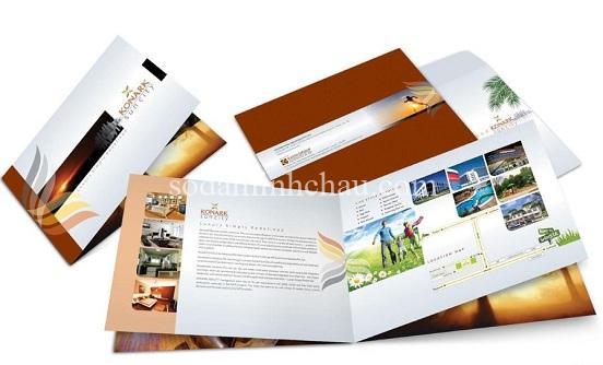 Gia công catalogue theo yêu cầu