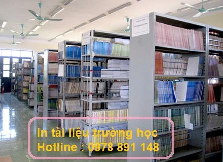 Cơ sở in tài liệu trường học chất lượng đẹp nhất tại Minh Châu