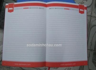 Mẫu sổ da cao cấp tháng 11-12 tại Hà Nội