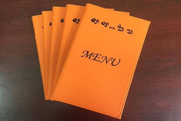 báo giá in menu bìa da tại mc