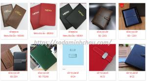 blog sổ da minh châu hình ảnh sản phẩm mẫu