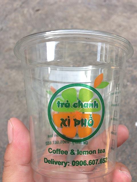 in logo dán ly nhựa xì phố