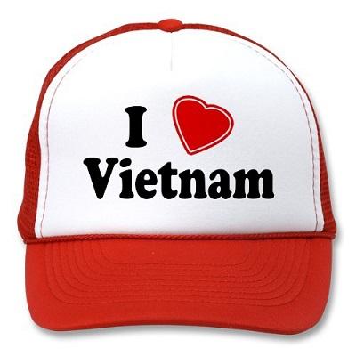 in logo lên mũ vải