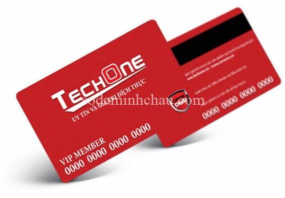 In thẻ nhựa techone