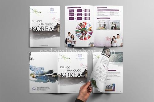 In và thiết kế catalogue theo yêu cầu