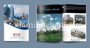 In catalogue giới thiệu công ty NLDK