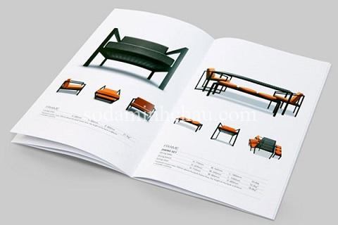 Mẫu in catalogue nhanh khổ a4