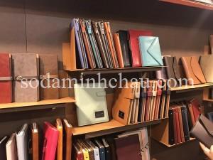 Các mẫu sổ da tặng doanh nghiệp tại Sổ da Minh Châu