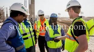 In mũ bảo hộ lao động công ty xây dựng
