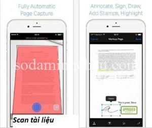 scan tài liệu sang pdf bằng instapdf 2