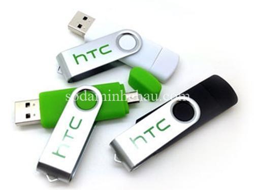 In logo HTC lên usb làm quà tặng sự kiện