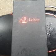 Menu bìa da in logo LeBon