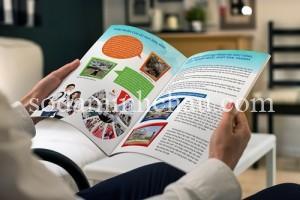 Mẫu in catalogue kỹ thuật số chất lượng cao