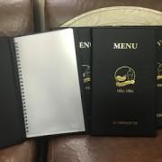Bìa menu da giá rẻ, có sẵn số lượng lớn