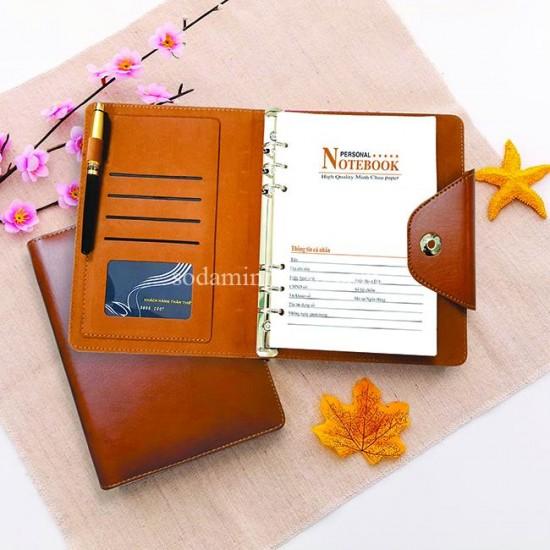 Công ty in sổ da cao cấp làm quà tặng Minh Châu. Hotline : 0978891148