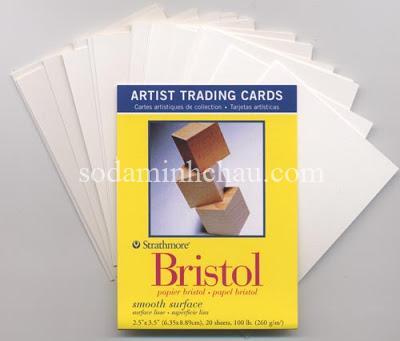 Giấy bristol dùng trong in ấn