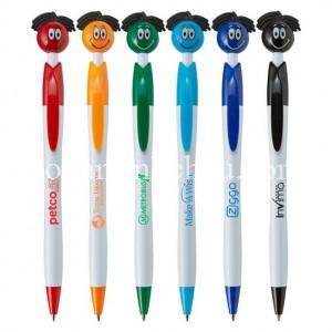 In bút bi quảng cáo với hình thù ngộ nghĩnh