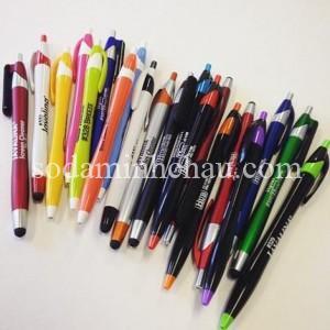 Tổng hợp các loại bút bi vỏ nhựa tại Minh Châu