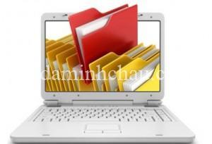 Số hóa tài liệu cho phép sắp xếp dữ liệu ở dạng điện tử
