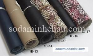 Các mẫu vải giả da tại Minh Châu rất đa dạng phong phú