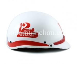 In logo lên mũ bảo hiểm cũng là quà tặng doanh nghiệp độc đáo