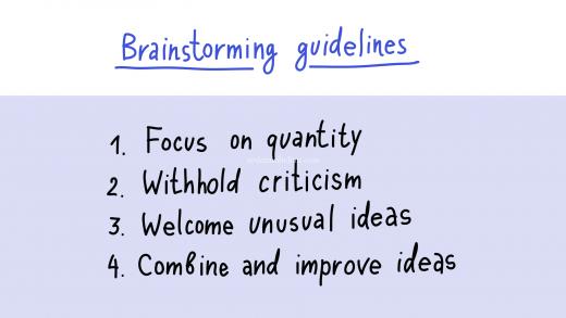 Brainstorm - công cụ lên ý tưởng sáng tạo