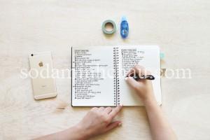Sổ tay planner là phương tiện tuyệt vời để bạn ghi chép lời khuyên