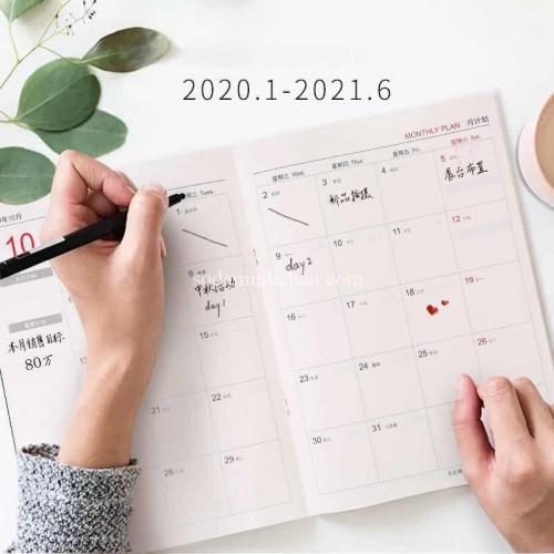 Sổ Planner giúp nâng cao hiệu quả làm việc (Ảnh: nguồn internet)
