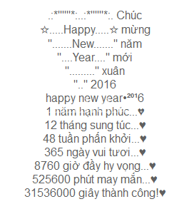 Tin nhắn chúc mừng năm mới