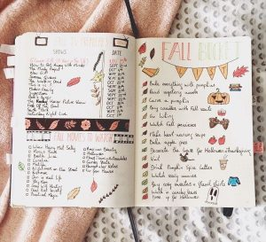 Bullet Journal layout đẹp