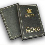menu da nhà hàng
